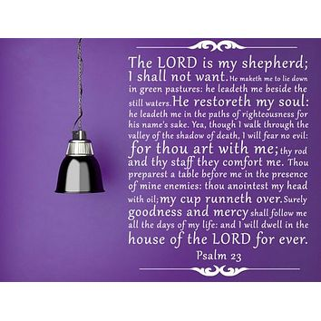 The Lord's Prayer Vinyl Wall Decal
