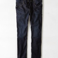 AEO Men's Wear America Slim Straight Jean (Dark Rinse)