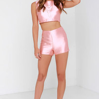 Glamorous Love or Luster Peach Two-Piece Set