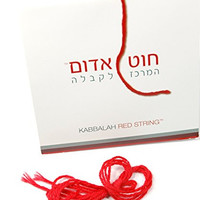 THE ORIGINAL Kabbalah Red String Evil Eye Protection Bracelet From Rachel's Tomb in Israel