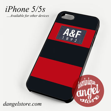 red abercrombie and fitch Phone case for iPhone 4/4s/5/5c/5s/6/6 plus