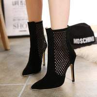 4 inches Ankle Stilettos heels