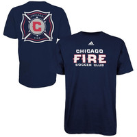 Chicago Fire adidas Primary One T-Shirt – Navy Blue-