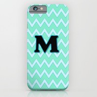 Letter M iPhone & iPod Case by Gretzky