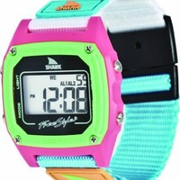 Freestyle women's FS84861 Shark Clip Classic Retro Digital Watch Watch with Nylon Band
