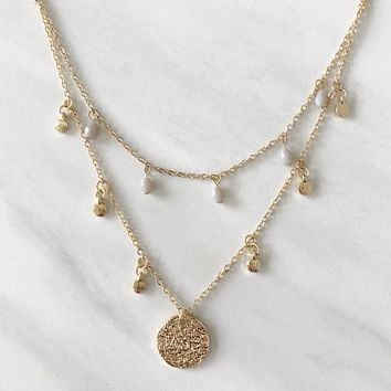 Crystal Guidance Layered Necklace