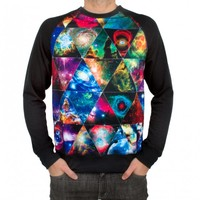 Imaginary Foundation Equilateral Raglan Crewneck - Hoodies & Sweatshirts - Store