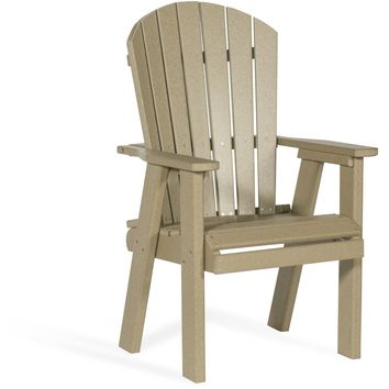 Leisure Lawns Amish Made Recycled Plastic Bistro Chair Model #78 - Ships FREE within 2 to 3 Weeks