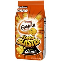 Pepperidge Farm Goldfish Flavor Blasted Xtra Cheddar Crackers, 6.6 oz. Bag - Walmart.com