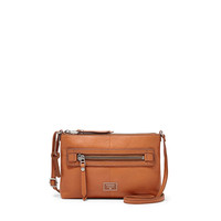Dawson Crossbody Handbag, Camel Leather