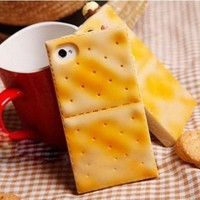 Cute Biscuit Cookies Case For Iphone 4/4s