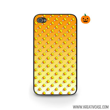 Halloween Phone Case, Candy Corn, Orange Ombre, iPhone Case, iPhone 4, iPhone 5, Blackberry, Samsung S5, Phone Cover - H004