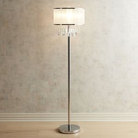 Erin Crystal Floor Lamp
