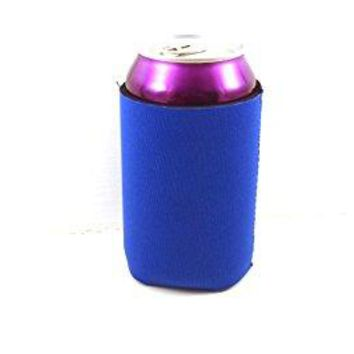 12 Premium Blank Beverage Coolers (Royal Blue)