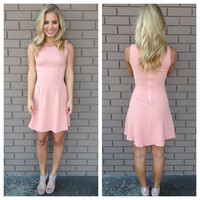 Blush Pink Aurora Dress