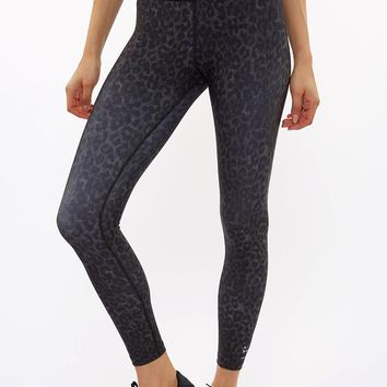 Lauren 7/8 Tight - Black Leopard