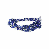 Tropical Fabric Headband - Blue