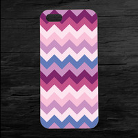 Purple Patterned iPhone 4 and 5 Case