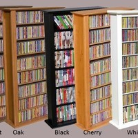 464 CD 234 DVD Tower DVD CD Storage Rack Shelf 5 colors - 2401