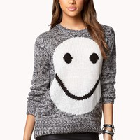Happy Cable Knit Sweater