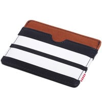 Charlie Card Wallet Peacoat Offset Smooth Leather