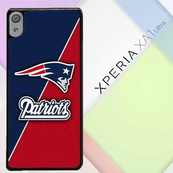 New England Patriots X4843 Sony Xperia XA1 Ultra Case