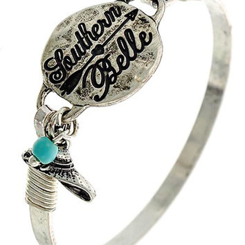 Antique Silver Southern Belle Bracelet