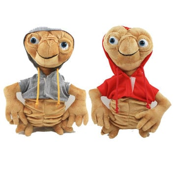 E.T Plush Toys 22cm Gray/Red Kawaii ET Soft Stuffed Animal Doll Kids Toys High Quality 80's hwd