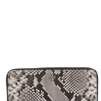 Tory Burch Robinson Leather Continental Wallet | Nordstrom