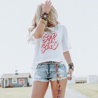 Get It Girl Tee + Belt Set #OOTW