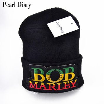Knitted cap Jamaica Bob Marley Rasta Beanie For Women Men Multicolor Male Hat Female Cap
