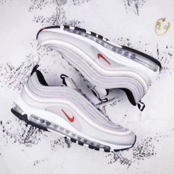 NIKE AIR MAX 97 Fashion Running Sneakers Sport Shoes Golden G-FEU-SY