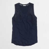 FACTORY LACE TRIM TANK TOP