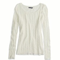AEO FACTORY CABLE KNIT SWEATER