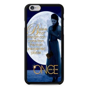 Once Upon A Time Belle Full Moon iPhone 6/6S Case