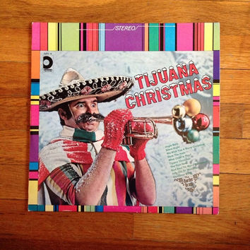 HOLIDAY SALE TIJUANA Christmas: Christmas Record / Holiday Record / Christmas Songs / Jingle Bells / Kitschy Christmas / Christmas Carols F
