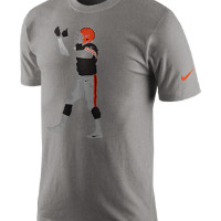 Nike Silhouette (NFL Browns / Johnny Manziel) Men's T-Shirt