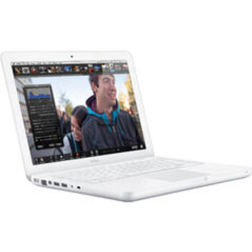Apple MacBook MC516LL/A 13.3 in LED Notebook - Core 2 Duo 2.40 GHz - White - Sears