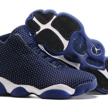 New Jordan Horizon Midnight Navy/Pure Platinum-White