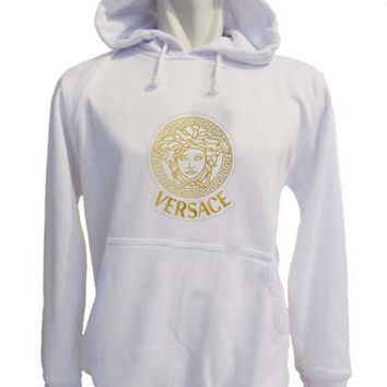 versace Hoodie Sweatshirt Sweater white variant color for Unisex size