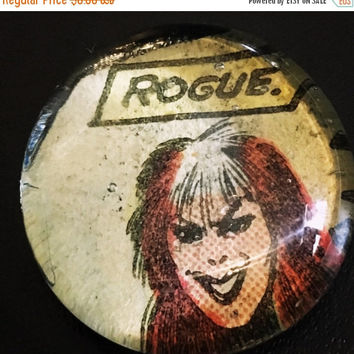 On Sale Rogue Comic Glass Pebble Magnet
