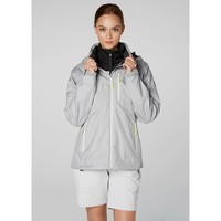 Helly Hansen Women's Crew Hooded Jacket Limited Ed Silver