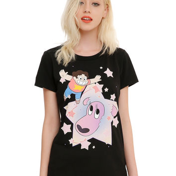 Steven Universe Lion Girls T-Shirt
