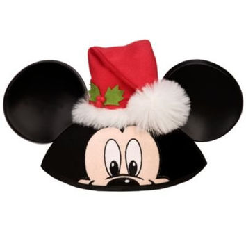 Disney Store/Disney Parks Christmas/Santa Claus Mickey Mouse Ears Hat (One Size)