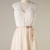 Tea Party Lace Overlay Sleeveless Tutu Dress in Crème Fraiche | Sincerely Sweet Boutique