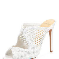 Alexandre Birman Tanny Crocheted Mule Pump