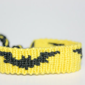 Batman Friendship Bracelet
