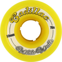 CADILLAC WHITE WALLS 59mm 78a YELLOW