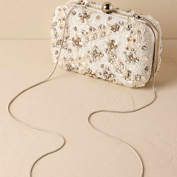 Doris Beaded Clutch