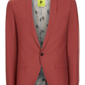 NOOSE & MONKEY Rust Slim Fit Blazer